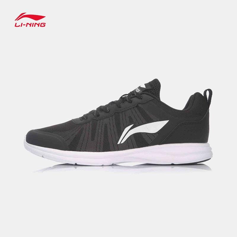 李宁跑步鞋男鞋新款轻质反光夜跑晨跑运动鞋
