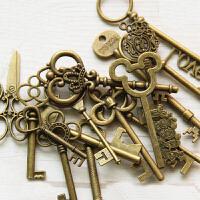 韩国文具批发 复古铜钥匙挂件(小号)2036028 复古古铜色 管家婆钥匙 DIY配件吊坠