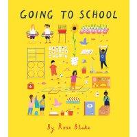英文原版 精装绘本 去上学 Going to School 学龄前/一年级宝宝