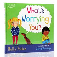 【中商原版】小情绪 你在担心什么 英文原版 What's worrying you? 儿童情绪宣泄