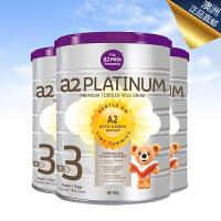 澳洲A2 白金婴儿奶粉系列 3段 900g 澳洲直邮 3罐装 海外购