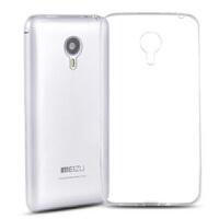 红兔子 魅族mx4 pro手机壳 mx4pro手机套硅胶保护套 薄透明外壳-高清透白