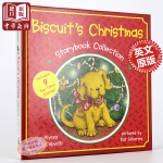 小饼干狗合集 英文原版 英文版 Biscuit Christmas Storybook i can read 儿童读物