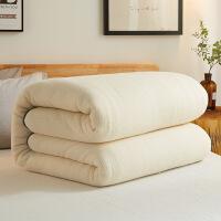 新疆棉被纯棉花被子冬被全棉被芯加厚保暖棉絮垫被手工棉胎 乳黄色