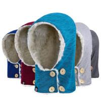 征伐 户外抓绒帽 抓绒帽子冬加厚保暖防风滑雪帽骑行头套运动帽