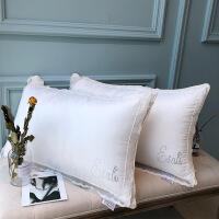 【官方旗舰店】伊莎利枕头枕芯一对单个柔软蕾丝花边护颈枕颈椎枕单双人整头 蕾丝枕一对