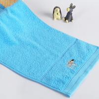 时尚儿童毛巾甜美水果刺绣花纯棉洗脸巾女生宝宝儿童专用小面巾