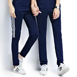 花花公子 2017春夏新款长裤运动裤加大码休闲裤