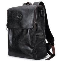 皓顿男士韩版双肩包时尚潮流新款背包大学生旅行书包大容量电脑包
