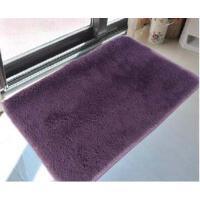 丝毛加厚地毯客厅地毯沙发茶几地毯卧室床边毯满铺地毯榻榻米地垫40*60cm 卡其色