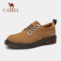 camel骆驼女鞋秋工装鞋大头皮鞋马丁靴学院风时尚百搭单鞋