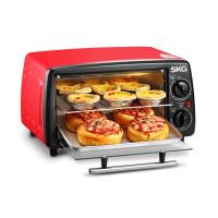 SKG kX1701 烤箱 智能电烤箱家用烘焙烤箱多功能家用迷你型12L