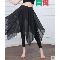 舞蹈练功服裤子女成人现代古典民族舞裙裤纱裙莫代尔衣服