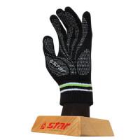 世达star男士成人少年儿童用手套防寒保暖足球冬季胶粒手套LG312