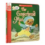 【中商原版】姜饼人 The Gingerbread Man 学乐故事角色扮演互动书 活动书