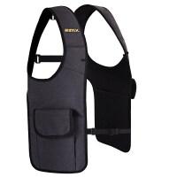 隐形双肩户外战术背包 腋下挎包特工包防盗背包贴身钱包军迷包 双肩款