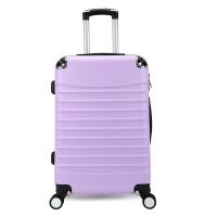 新款工厂礼品拉杆箱 万向轮旅行箱包 ABS行李登机箱皮箱可定logo