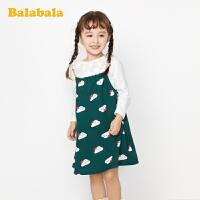 【7折价:139.93】巴拉巴拉童装女童春季新款洋气2020 套装儿童衣服小童宝宝连衣裙