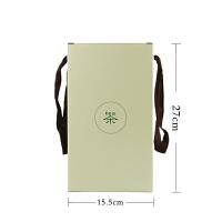 20191128071029296新茶春茶普洱茶白茶散茶简易折叠一斤包装盒200g两提茶盒手拎茶盒 +