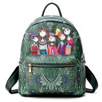 新款天天摩登双肩包秋冬季新款韩版潮流休闲背包女士书包旅行包