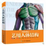 艺用人体结构 精装版 全彩 理解人体形态 人体结构骨骼肌肉造型解剖学基础教程 动漫素描书入门教材伯里曼人体结构教学书