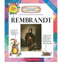 【中商原版】学乐我需要知道的伟大艺术家系列 伦勃朗 英文原版 Rembrandt 画家知识科普