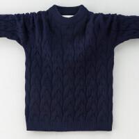 中大童男童羊毛衫秋款童装8儿童毛衣10 圆领针织羊绒衫9岁7韩版
