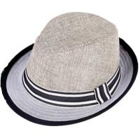 女士遮阳帽子 夏天防晒爵士草帽 春季出游帽子
