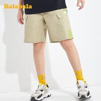 【券后预估价:57.1】巴拉巴拉裤子男大童童装儿童短裤男童休闲中裤夏装中大童