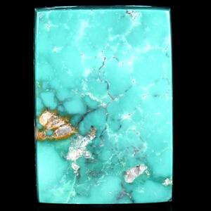 原矿高瓷高蓝绿松石平安无事牌吊坠 重4.3g