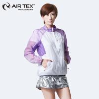 【每满200减100】AIRTEX/亚特防晒透气抗紫外线运动户外女式皮肤风衣