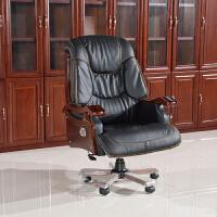 老板桌大班台简约现代办公家具经理主管总裁办公桌椅贴实木皮烤漆