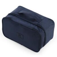 双层防水旅行内衣收纳包文胸整理包旅游衣服收纳袋行李袋便捷