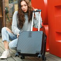 18寸小行李箱女迷你登机箱万向轮旅行箱子大学生拉杆箱男20寸韩版