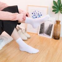 时尚袜子女士纯棉棉袜中筒袜韩版学院风秋季全棉秋冬季个性长袜百搭潮