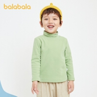 【1.20年�� 3件6折: 101.4】巴拉巴拉�和�T恤女童�L袖男童上衣����冬�b童�b加�q百搭