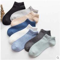 袜子男短袜薄款男士袜子纯棉防臭吸汗夏季船袜浅口防滑隐形袜