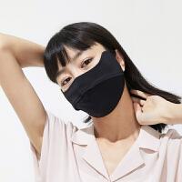 护眼角防晒口罩女冬防紫外线防尘透气可清洗面罩全脸防寒风