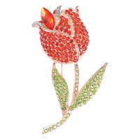 时尚玫瑰金水晶胸针胸花男女开衫别针披肩扣丝巾扣配饰品