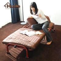 折叠沙发床午休多功能单人床小户型日韩式办公室简易折叠椅 [新品上市 限量抢购]