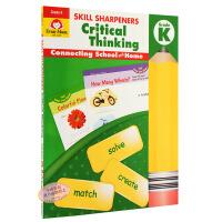 Skill Sharpeners Critical Thinking, GradeK幼儿园 技能铅笔刀系列:批判性思维