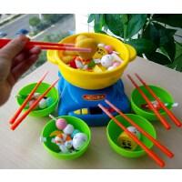 火锅仿真厨房益智早教练习筷男孩女孩过家家夹夹乐儿童玩具礼物