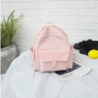 韩版书包女中学生双肩包休闲旅行包百搭chic文艺背包