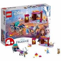 LEGO乐高积木 迪士尼公主系列 41166 艾莎的马车大冒险 玩具礼物