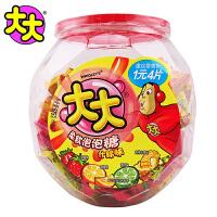 箭牌 大大(TATA) 柔软泡泡糖 什锦味 720g 罐装 口香糖 休闲零食