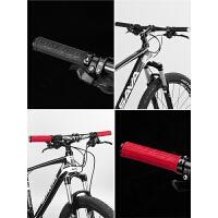 山地车把手铝合金双边锁死骑行把自行车把套TPR橡胶