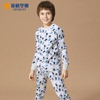 秋冬装新款男童宝宝内衣裤两件套中大童儿童纯棉保暖内衣套装P008
