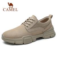 camel骆驼男鞋春季2019新款低帮工装马丁靴复古鞋子潮运动鞋韩版休闲鞋