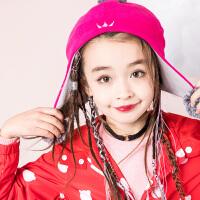 【5折价:74.5元】souhait水孩儿童装男女同款帽子儿童时尚保暖飞行帽