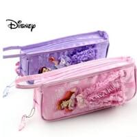 迪士尼公主芭比笔袋可爱卡通女孩儿童小学生铅笔盒文具